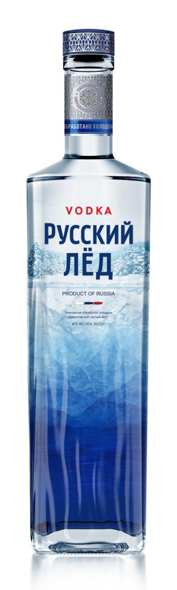 Russkii Ljod Vodka 50cl