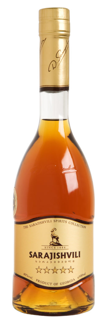 Sarajishvili 5 Years Brandy 50cl