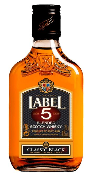 Label 5 Classic Black Scotch Whisky 20cl