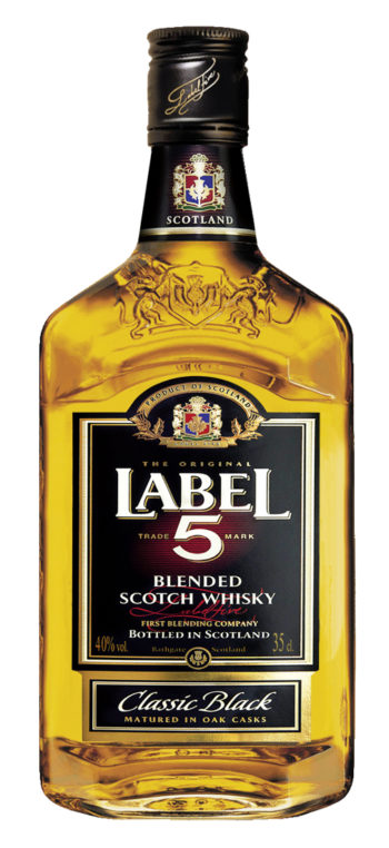 Label 5 Classic Black Scotch Whisky 35cl